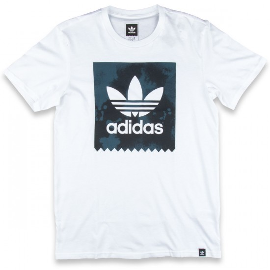 Adidas D2D Fill T-Shirt - White