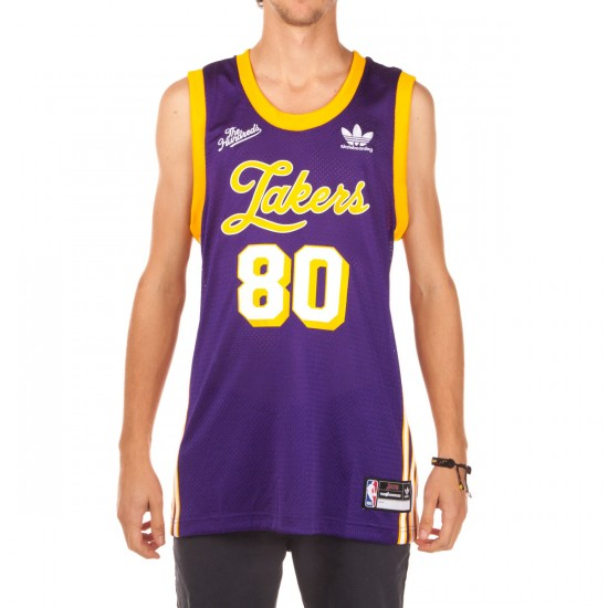 Adidas LA Jersey Tank Top - Purple