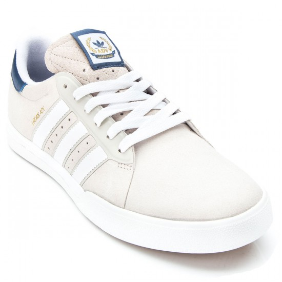 Adidas Lucas Premiere ADV Shoes - White/Stone/Fade Ink - 6.0