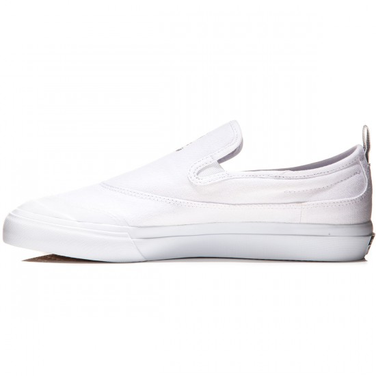 Adidas Matchcourt Slip Shoes - White/White - 8.0
