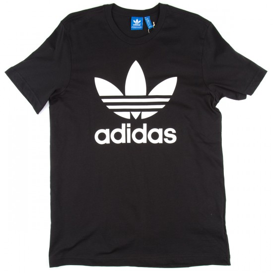Adidas Original Trefoil T-Shirt - Black
