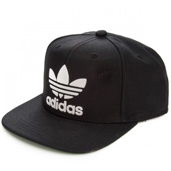 Adidas Originals Thrasher Chain Snapback Hat - Black White 7ae0cec8054