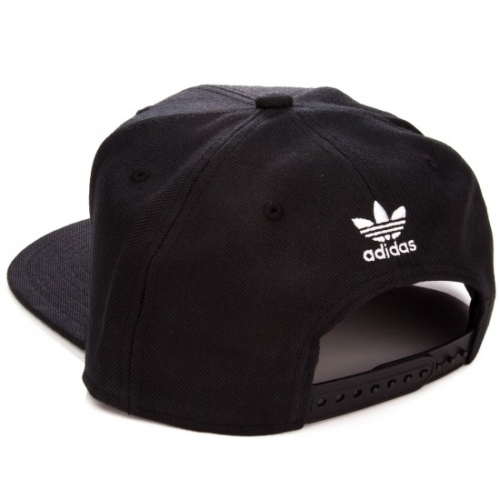 Adidas Originals Thrasher Chain Snapback Hat - Black/White
