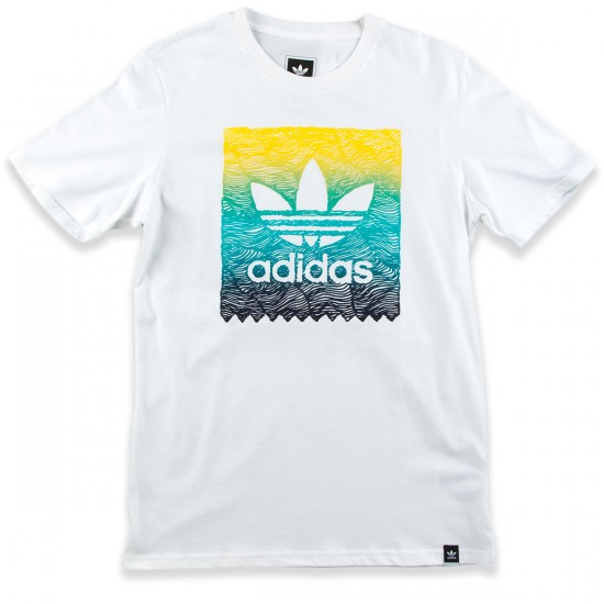 Adidas Scratch Grade Blackbird T-Shirt - White