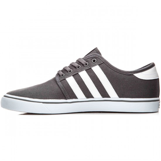 Adidas Seeley Shoes - Ash/White/Black - 10.0