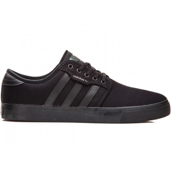 Adidas Seeley Shoes - Black/Black/Cinder - 6.0
