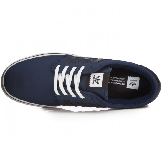 Adidas Seeley Shoes - Navy/Black/White - 8.5