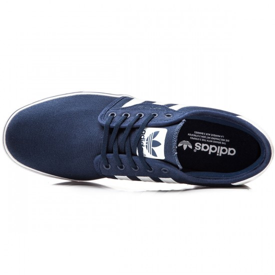 Adidas Seeley Shoes - Navy/White/Navy - 6.0