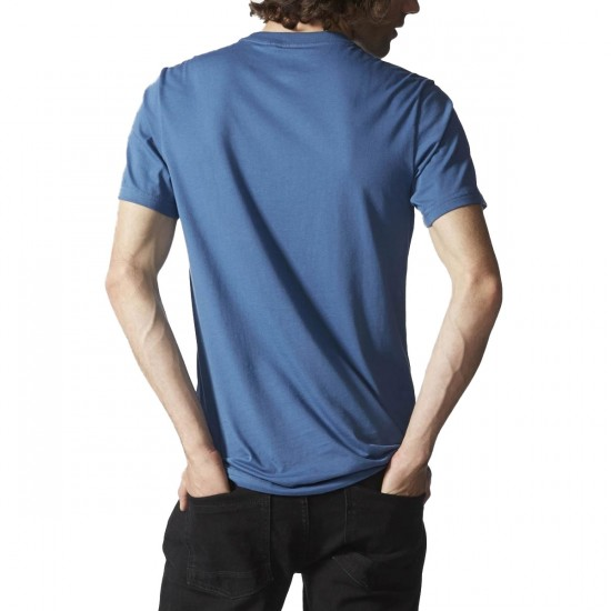 Adidas Shark Pocket T-Shirt - Ash Blue