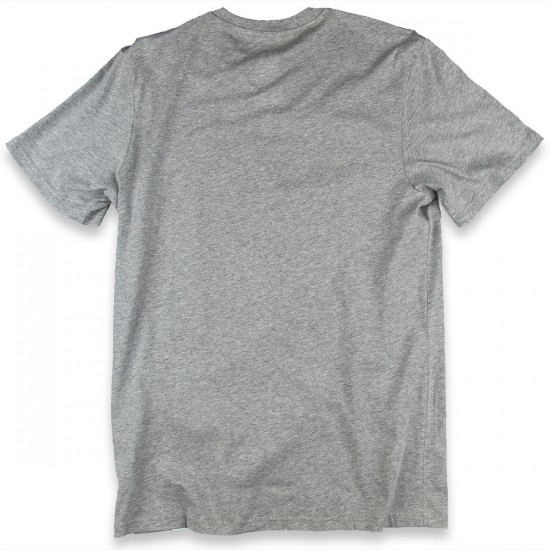 Adidas Solid Logo Fill T-Shirt - Core Heather