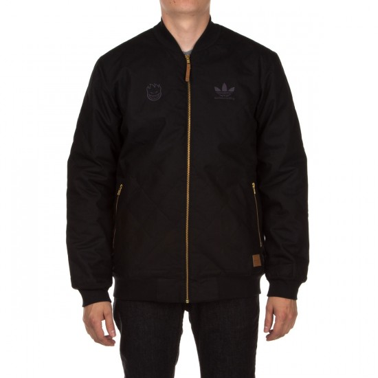 Adidas Spitfire Silas Jacket - Black/Red/Carbon