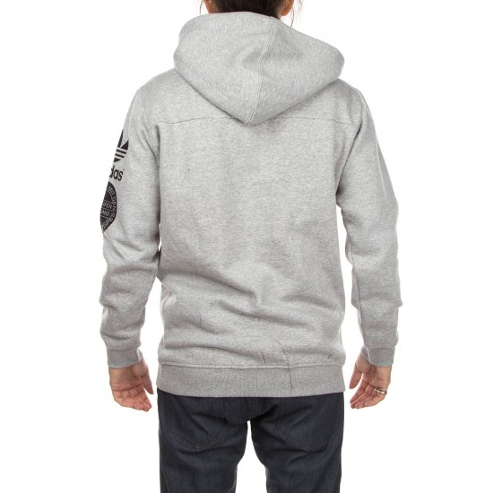 Adidas Str Graph Hoodie - Grey Heather