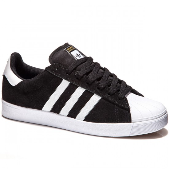 adidas superstar shoes black and white