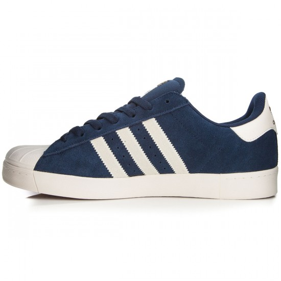 Adidas Superstar Vulc Adv Shoes - Navy/White/Navy - 7.0