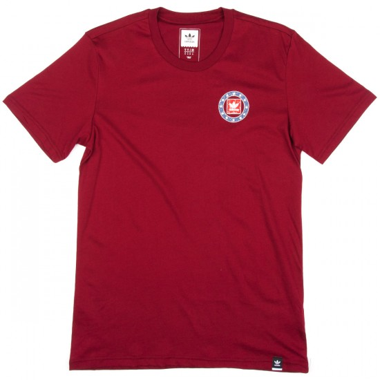 Adidas Team Turkey Vulture T-Shirt - Burgundy