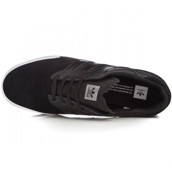 Adidas Triad Shoes - Black/Black/White - 10.0
