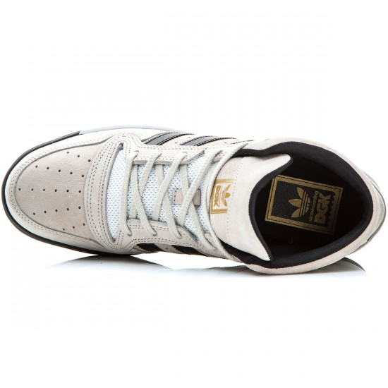 Adidas X DGK Locator Mid Shoes - Stone/Black/White - 7.0