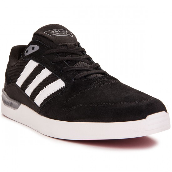Adidas ZX Vulc Shoes - Black/White/Power Red - 8.0