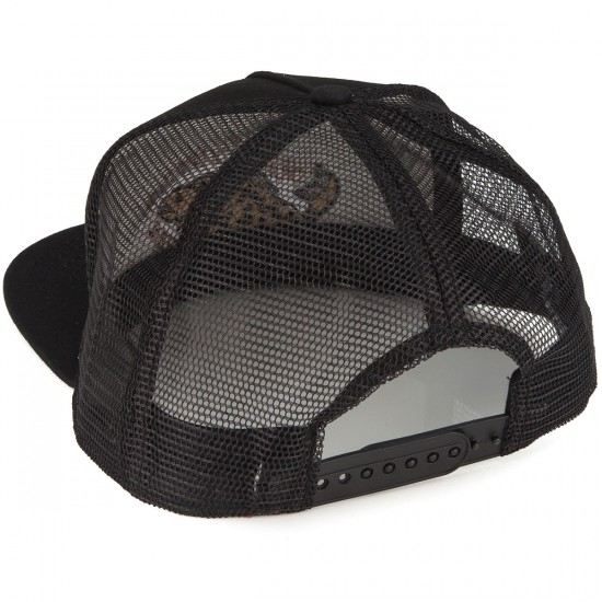 Airblaster Artic Trout Trucker Hat - Black