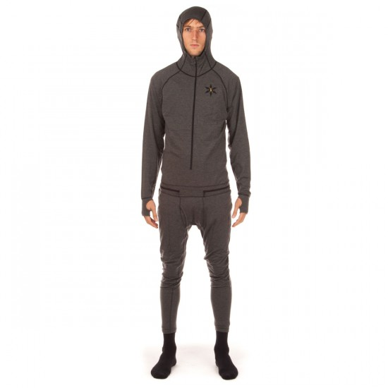 Airblaster Merino Ninja Suit - Natural Black