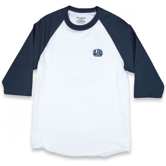 Alien Workshop Believe Raglan T-Shirt - Navy/White