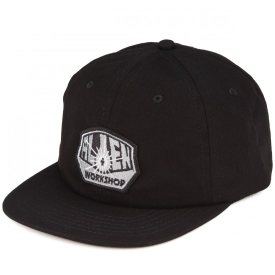 Alien Workshop OG Embroidered Trucker Hat - Black