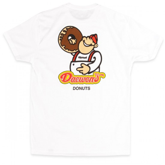 Almost Daes Donuts T-Shirt - White