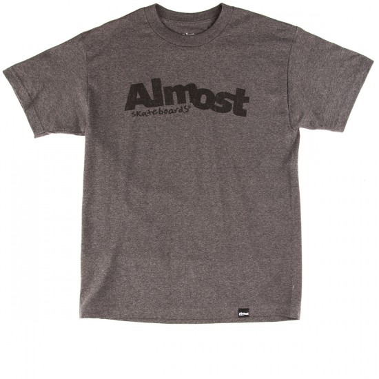 Almost Worn Out T-Shirt - Charcoal Heather