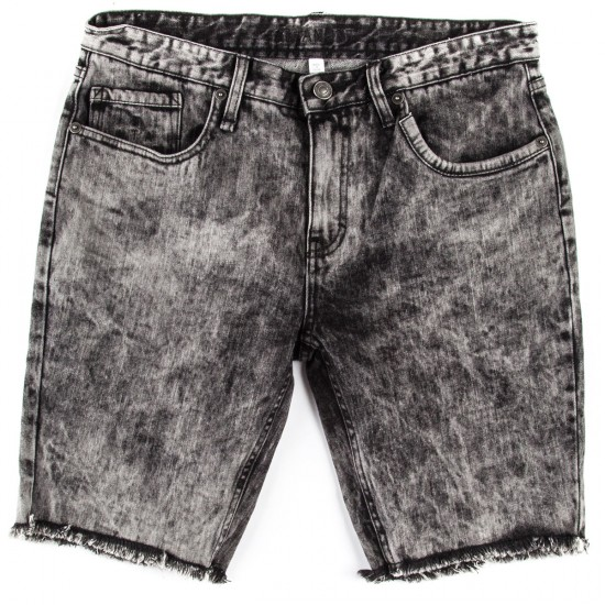 Altamont Alameda Slim Denim Shorts - Distressed Wash