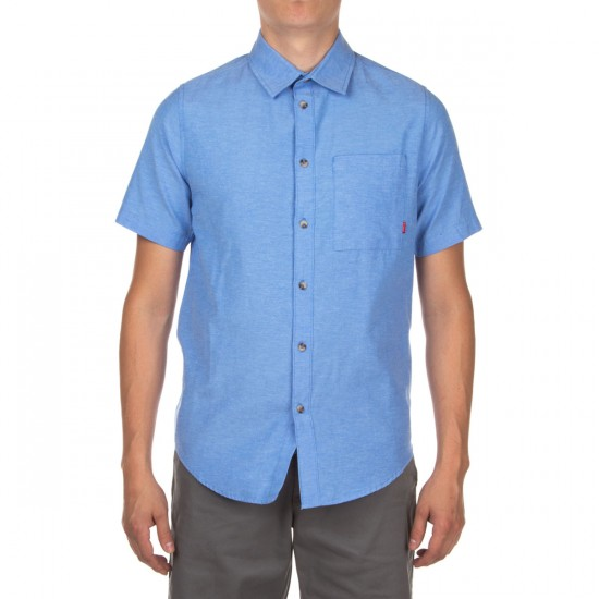 Altamont Alass Short Sleeve Woven Shirt - Blue