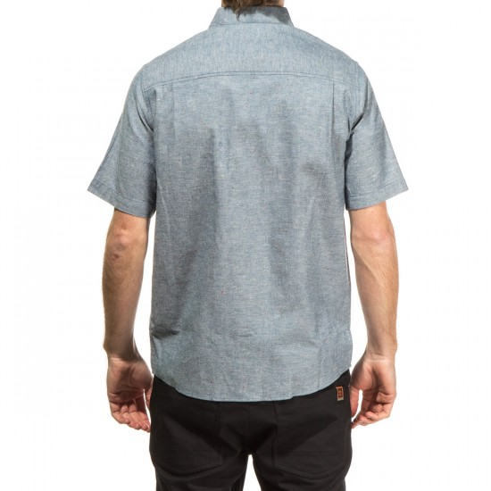 Altamont Alass Short Sleeve Woven Shirt - Indigo