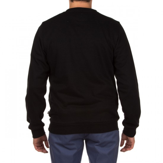 Altamont Antisec Crew Fleece Sweatshirt - Black