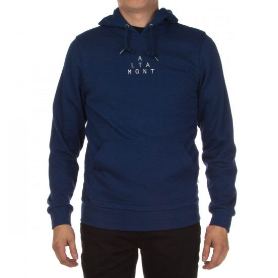 Altamont Antisec Pull Over Fleece Hoodie - Royal
