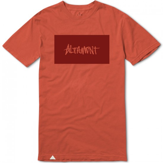 Altamont Blank Label T-Shirt - Clay