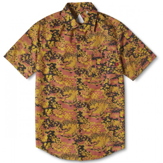 Altamont Coulic Short Sleeve Woven Shirt - Gold