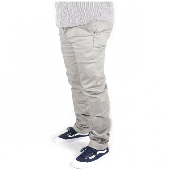 Altamont Davis Slim Chino Pants - Grey
