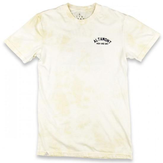 Altamont High And Dry Bear T-Shirt - Beige