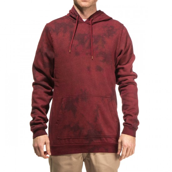 Altamont Icon Pullover Fleece Hoodie - Oxblood