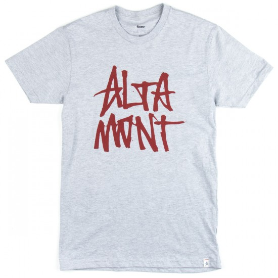 Altamont New Stacked T-Shirt - Grey/Red
