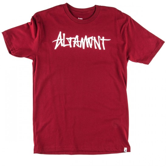 Altamont One Liner T-Shirt - Brick