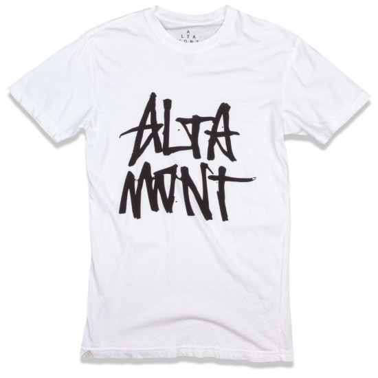 Altamont Stacked T-Shirt - White