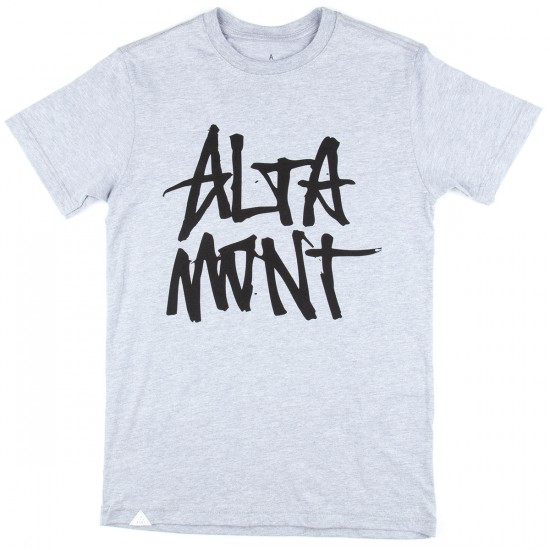 Altamont Stacked Tee T-Shirt - Grey
