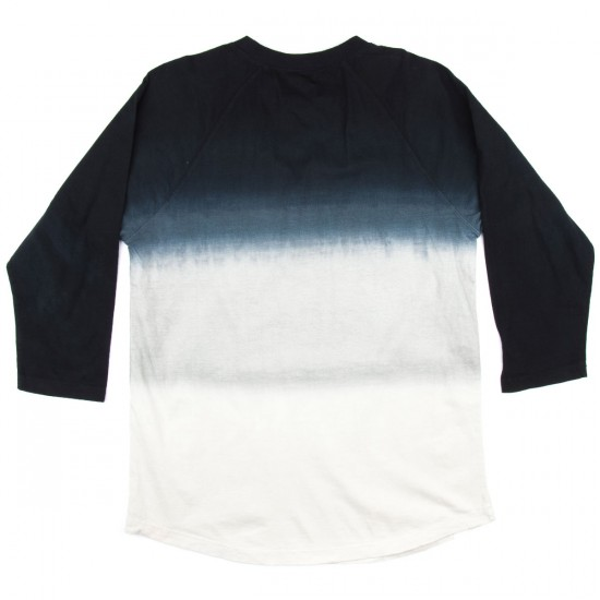 Altamont Watered Lockstep Dusted Raglan T-Shirt - Black
