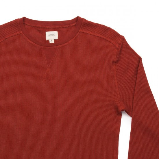 Ambig Cutter Thermal Shirt - Dark Tomato