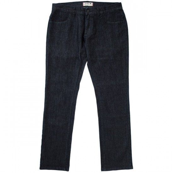 Ambig Dime Store Straight Denim Pants - Black - 38 - 32