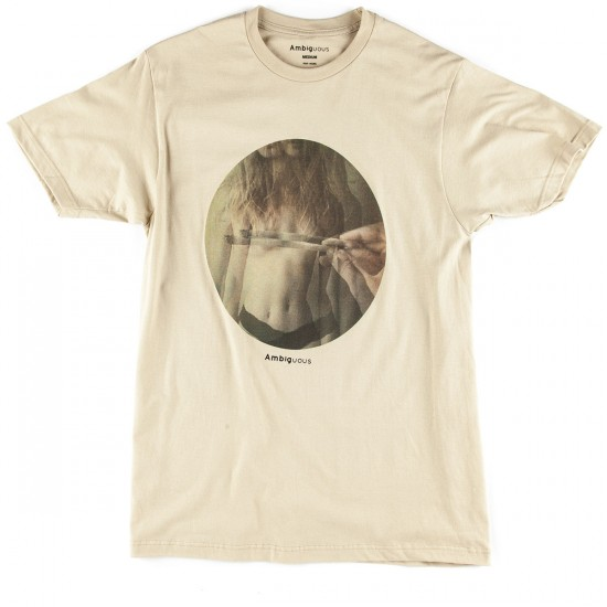 Ambig Hazy Photo T-Shirt - Sand