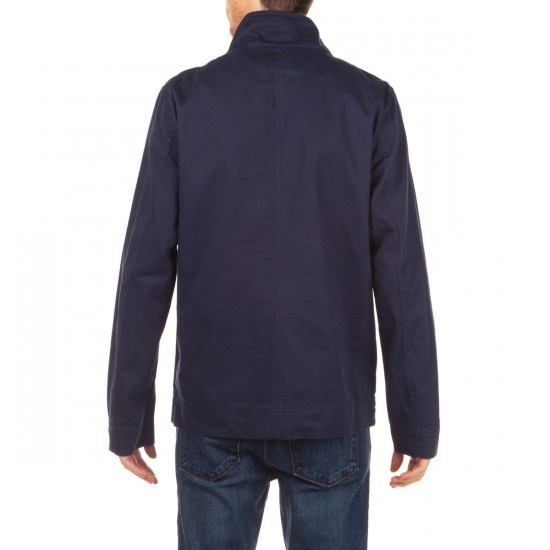 Ambig Imperial Button Up Jacket - Navy