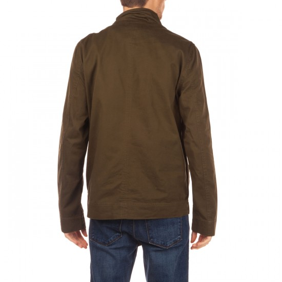 Ambig Imperial Button Up Jacket - Olive