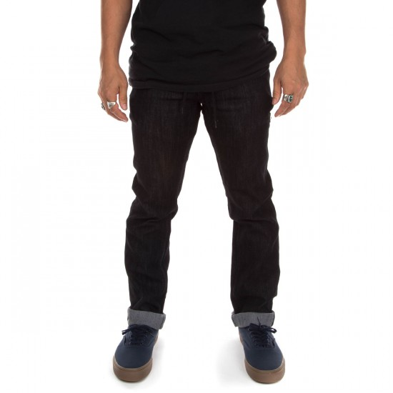 Ambig Nuts and Bolts Gripper Jeans - Black