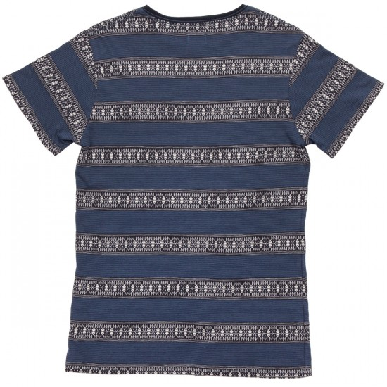 Ambig Platt Short Sleeve Knit Shirt - Navy